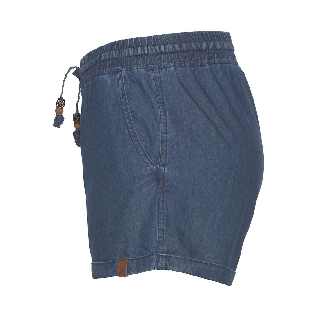Alife & Kickin Jeansshorts »JaneAK«, kurze Hose in Stretchqualität mit Zierperlen