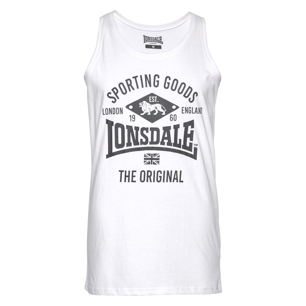 Lonsdale Tanktop, (Packung, 2er-Pack)