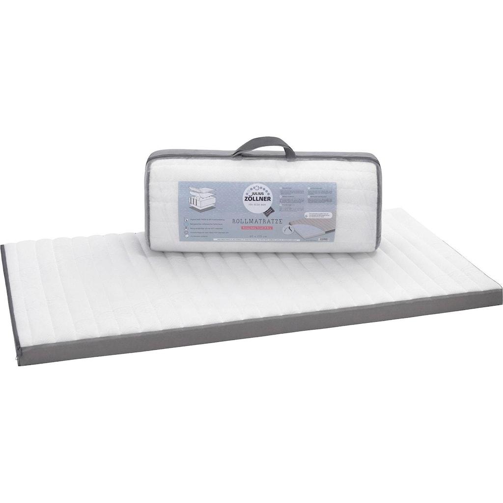 Julius Zöllner Kindermatratze »Travelsoft Premium«, 5 cm cm hoch, (1 St.), rollbare Reisebettmatr., Größe: 60x120 cm