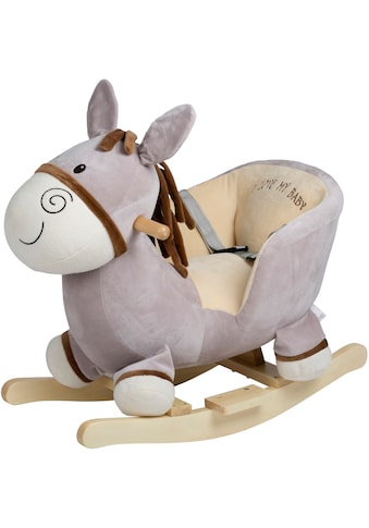 BabyGo Schaukeltier »Rocker Donkey«, mit Kufen und Griffen aus Birkenholz; Made in Europe kaufen