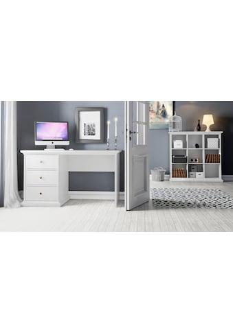 Home affaire Schreibtisch »Paris«, erstrahlt in schöner Holzoptik, Breite 130 cm kaufen