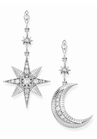 THOMAS SABO Paar Ohrstecker »Royalty Stern & Mond, H2026 - 643 - 14« kaufen