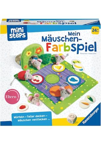 Ravensburger Spiel »ministeps®, Mein Mäuschen-Farbspiel«, Made in Europe, FSC® -... kaufen