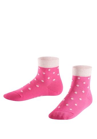 FALKE Socken »Glitter Dot«, (1 Paar), aus hautfreundlicher Baumwolle kaufen