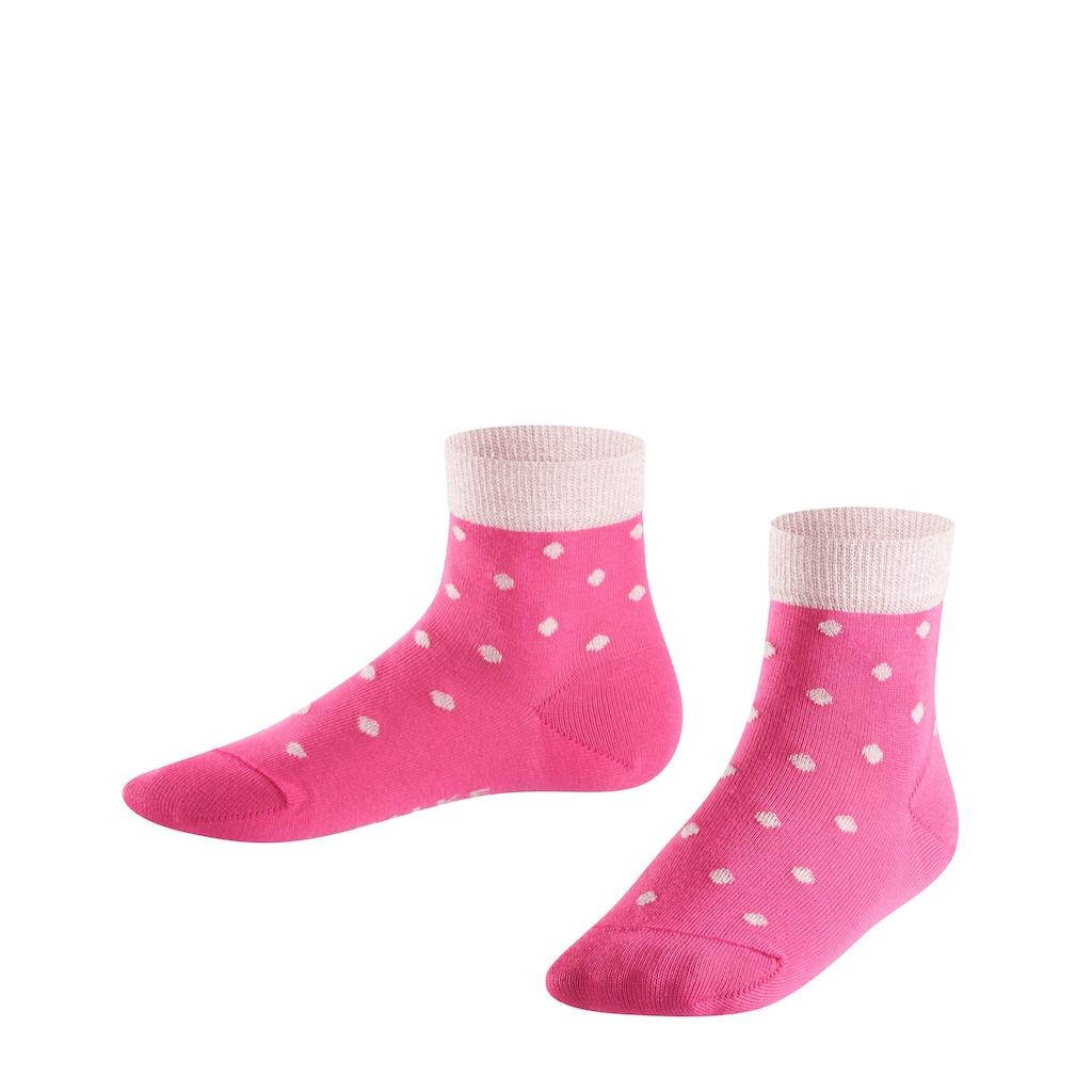 FALKE Socken »Glitter Dot«, (1 Paar), aus hautfreundlicher Baumwolle