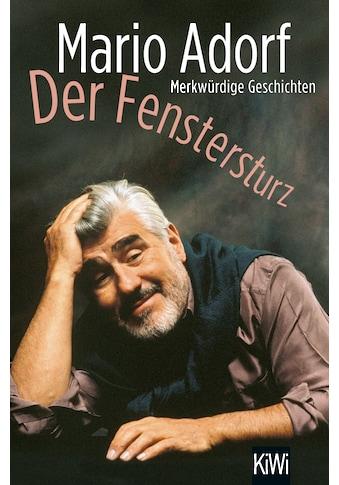 Buch »Der Fenstersturz / Mario Adorf« kaufen