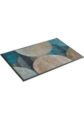 wash+dry by Kleen-Tex Fußmatte »Galaxia«, rechteckig, 7 mm Höhe, Schmutzfangmatte,... kaufen
