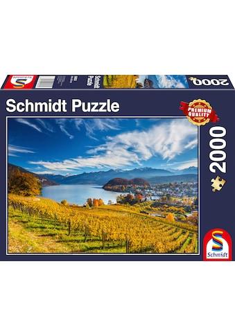 Schmidt Spiele Puzzle »Weinberge« kaufen