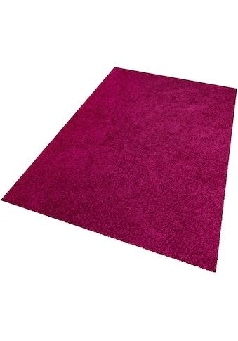 Hochflor - Teppich, »Amarillo«, Living Line, rechteckig, Höhe 35 mm kaufen