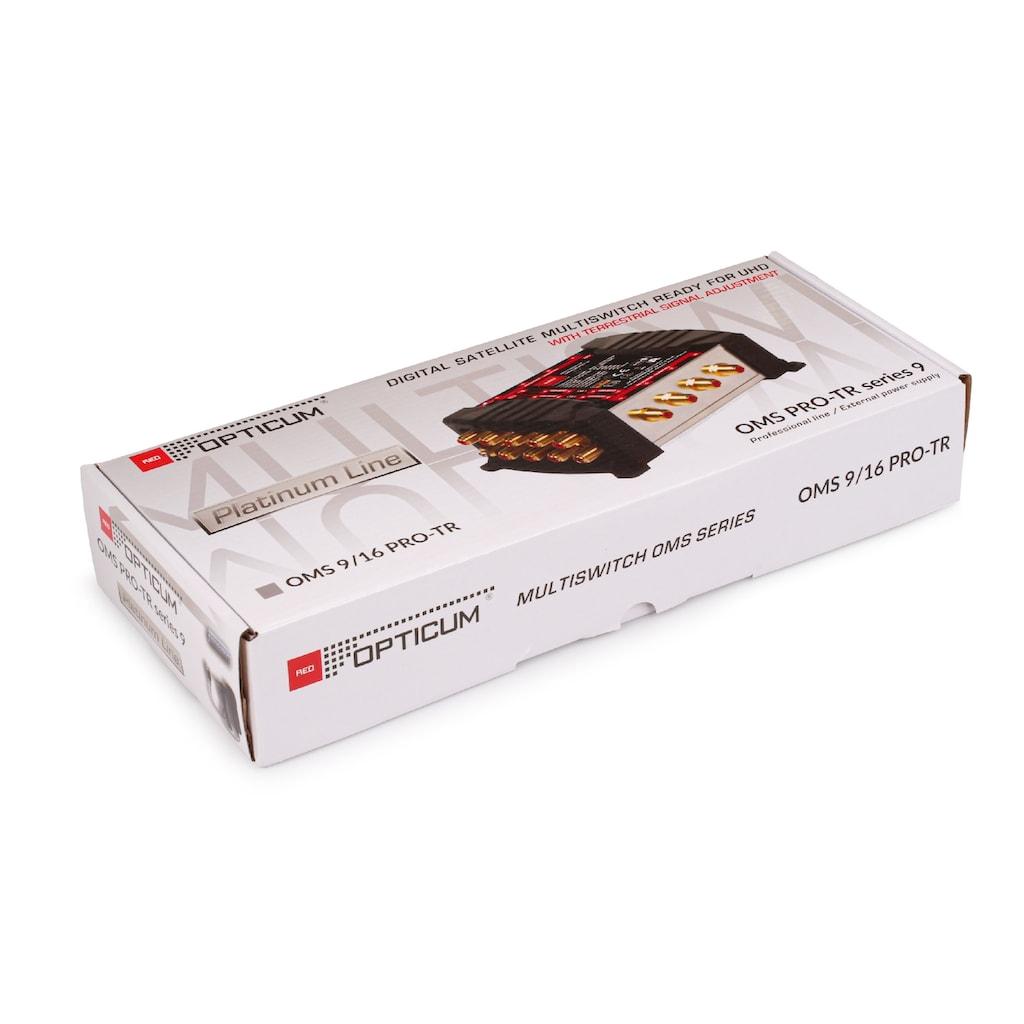 Opticum Red SAT-Verteiler, »Multischalter OMS 9/16 Pro-TR«