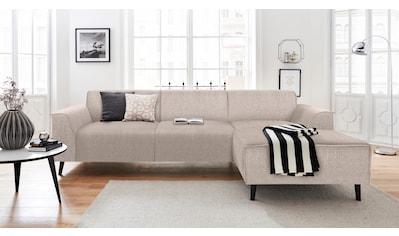 DOMO collection Ecksofa, mit Recamiere, inklusive komfortablem Federkern kaufen