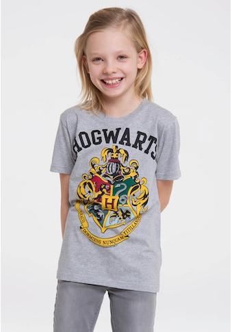 LOGOSHIRT T-Shirt »Hogwarts«, mit lässigem Frontprint kaufen