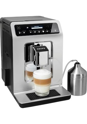 Krups Kaffeevollautomat EA891C Evidence Chrome Espresso - Vollautomat, 2,1l Tank, Kegelmahlwerk kaufen