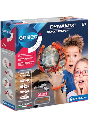 Clementoni® Experimentierkasten »Galileo Bionic Power Dynamix« kaufen