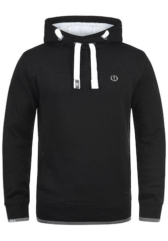 Solid Hoodie »BenjaminHood Pile«, Kapuzensweatshirt mit gefütterter Kapuze kaufen