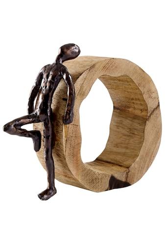 Deko - Objekt aus massivem Holz kaufen