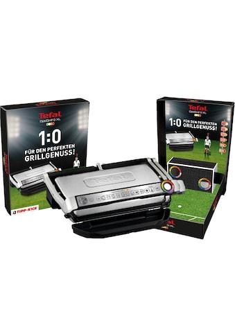 Tefal Kontaktgrill GC722D OptiGrill+ XL inkl. Tipp Kick Spiel, 2000 Watt kaufen