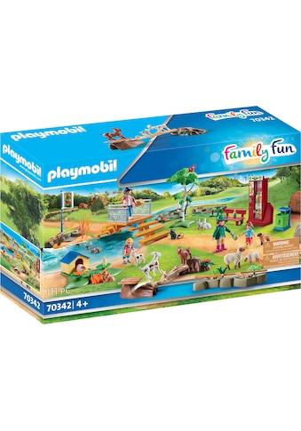 Playmobil® Konstruktions-Spielset »Erlebnis-Streichelzoo (70342), Family Fun«, ; Made... kaufen