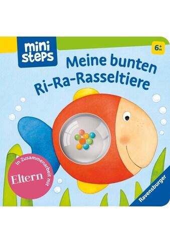 Buch »Meine bunten Ri-Ra-Rasseltiere / Ina Milk, Monika Neubacher-Fesser« kaufen