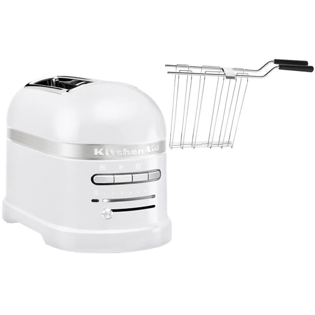 KitchenAid Toaster »Artisan 5KMT2204EFP«, 2 kurze Schlitze, für 2 Scheiben, 1250 W
