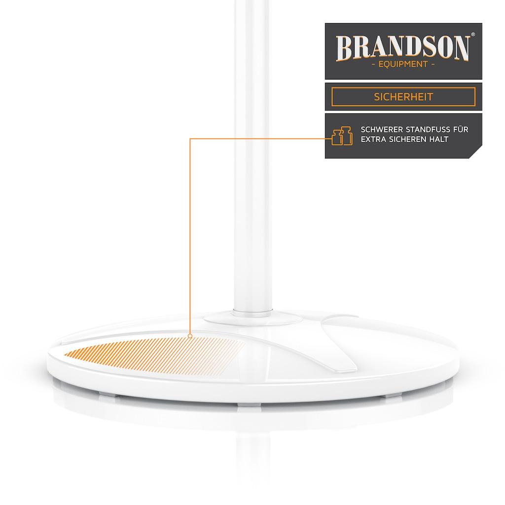Brandson Standventilator »Standlüfter mit 105,5 - 126 cm Höhe | 40cm Ø«, mit Fernbedienung
