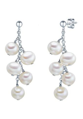 Valero Pearls Perlenohrringe »Set: A1084«, (2 tlg.), aus Süßwasser-Zuchtperlen kaufen