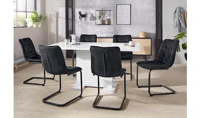 HELA Essgruppe »JENNY«, (Set, 5 tlg.), bestehend aus einem ausziehbaren Tisch und 4... kaufen
