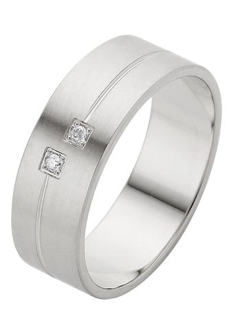 Firetti Trauring mit Gravur »Seidenmatt, Diamantschnitt, 6,0 mm breit«, Made in... kaufen