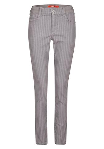 ANGELS Skinny-fit-Jeans, 'ONE SIZE' mit feinem Streifen-Muster kaufen
