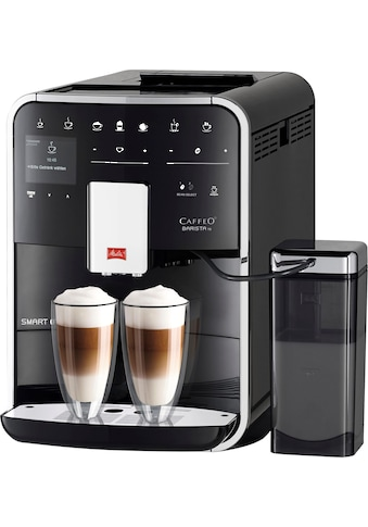 Melitta Kaffeevollautomat Melitta®CAFFEO Barista TS Smart® F85/0 - 102, schwarz, 1,8l Tank, Kegelmahlwerk kaufen