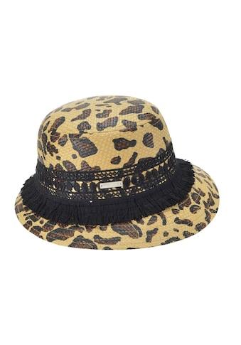 Seeberger Strohhut »Glocke mit Leoparden Muster 54682-0« kaufen