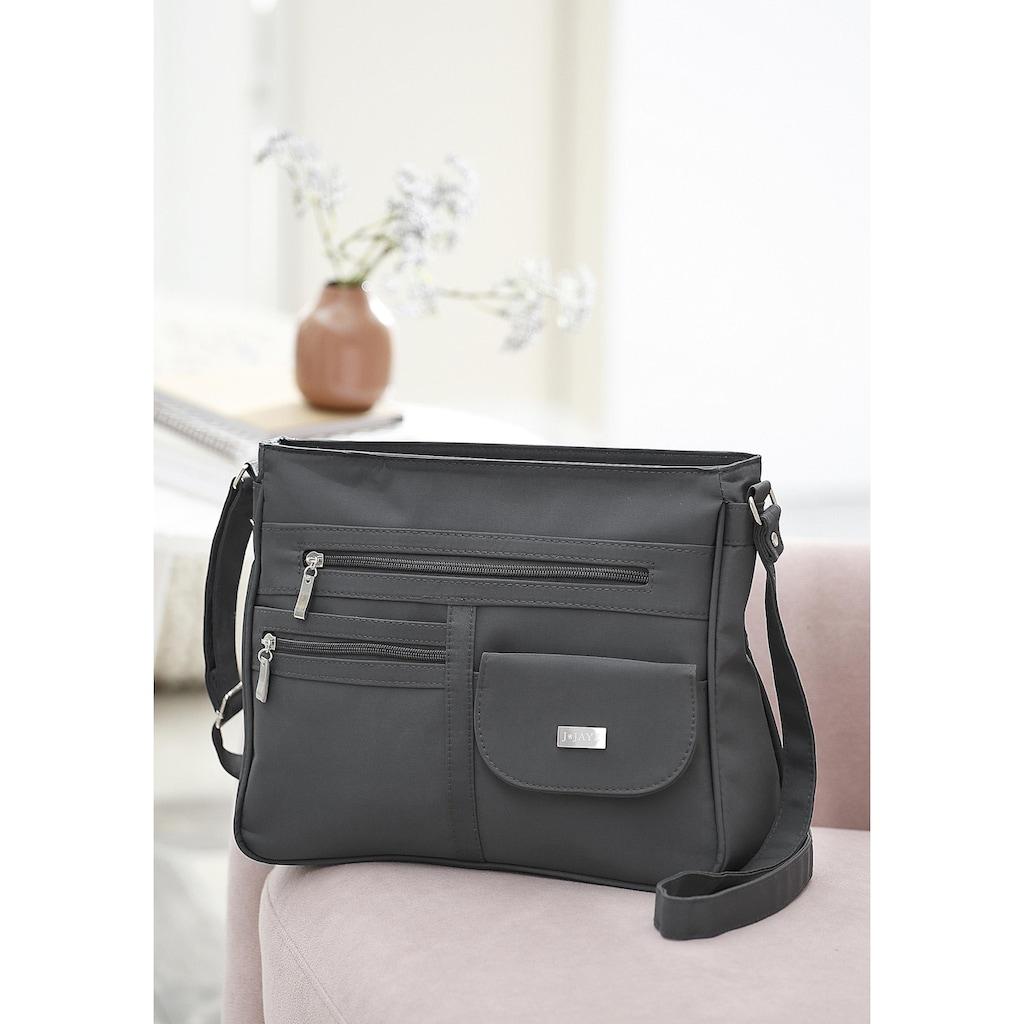 J.Jayz Umhängetasche, Crossbody Bag, mit verstellbarem Schultergurt
