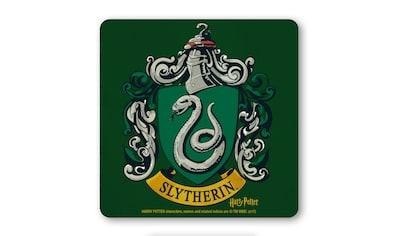 LOGOSHIRT Untersetzer mit Slytherin - Wappen kaufen