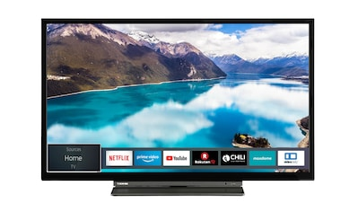 """Toshiba LED-Fernseher »24WL3C63DAX«, 60 cm/24 """", HD ready, Smart-TV kaufen"""