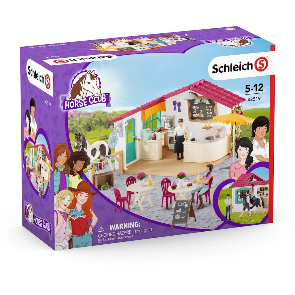 Schleich® Spielwelt »Horse Club, Spielset Reiter-Café (42519)«, Made in Europe
