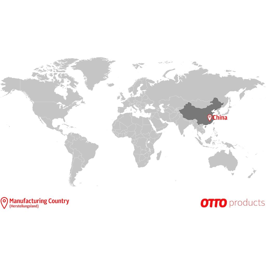 OTTO products Verdunkelungsvorhang »Jenna«, nachhaltig, glattes Material, blickdicht, monochrom