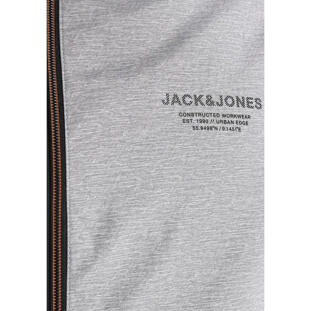 Jack & Jones Winterjacke »SEAM JACKET HOOD«