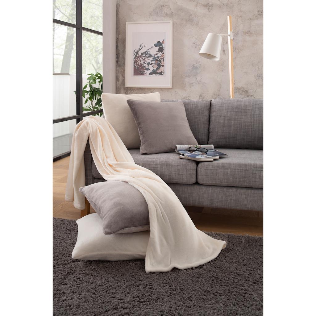 my home Wohndecke »Jil«, aus super weichem Kuschelfleece