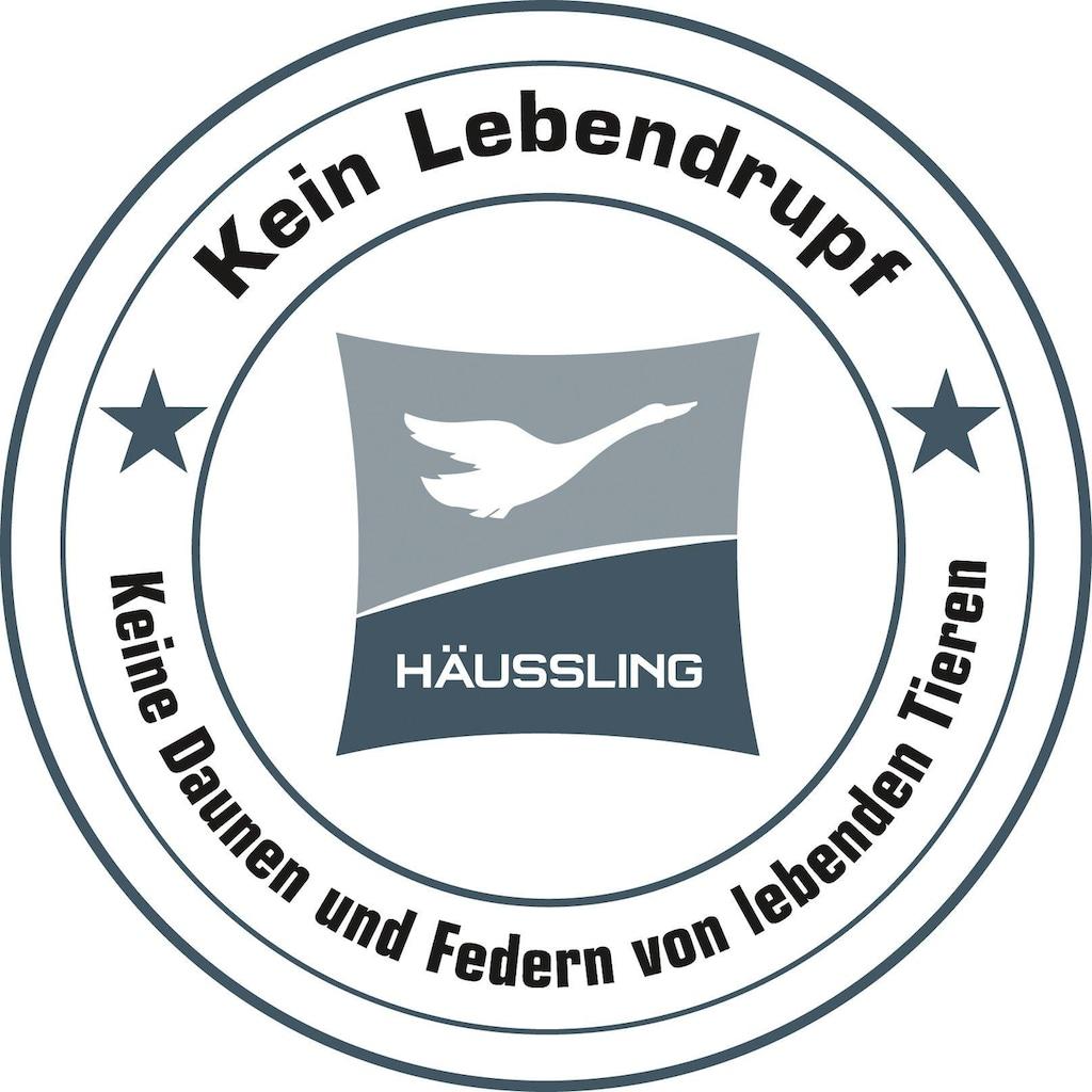 Haeussling Daunenbettdecke »Freiland-Gans Warm«, (1 St.)