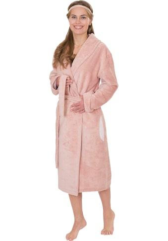 Wewo fashion Damenbademantel »4021«, (1 St., mit Gürtel), mit Soft Touch kaufen