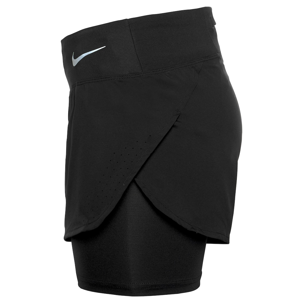 Nike Laufshorts »W NIKE ECLIPSE 2IN1 SHORT«