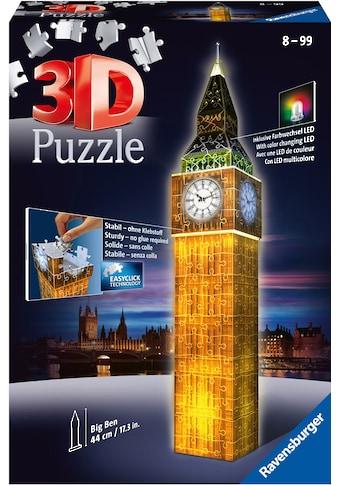 Ravensburger 3D-Puzzle »Big Ben bei Nacht«, Made in Europe, FSC® - schützt Wald -... kaufen
