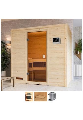 Karibu Sauna »Sunie«, 4,5-kW-Ofen mit ext. Steuerung kaufen