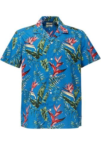 Esprit Kurzarmhemd, mit Hawaii-Print kaufen