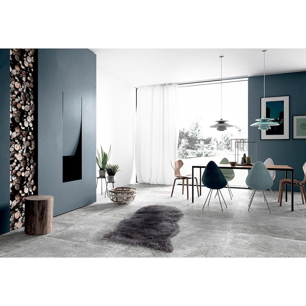 LeGer Home by Lena Gercke Fellteppich »Lenja«, tierfellförmig, 60 mm Höhe, Kunstfell, Wohnzimmer