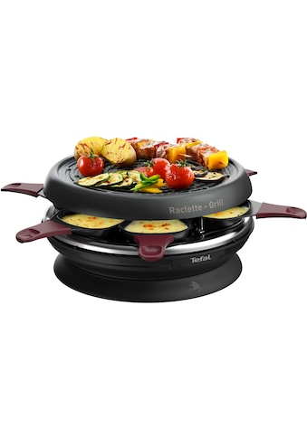 Tefal Raclette RE1820 Neo Invent, 6 Raclettepfännchen, 850 Watt kaufen