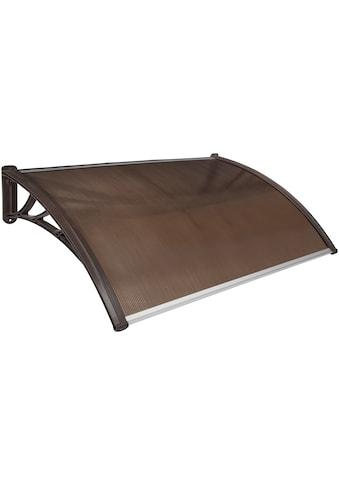 KONIFERA Vordach, Aluminium, BxTxH: 120x80x25 cm kaufen