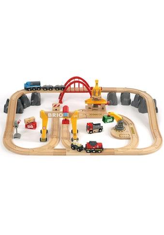 BRIO® Spielzeug-Eisenbahn »BRIO® WORLD Frachten Set Deluxe«, FSC®-Holz aus... kaufen