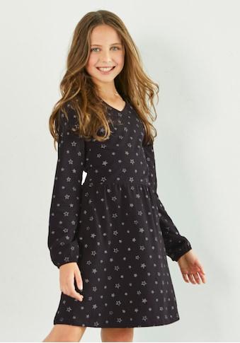 Arizona Jerseykleid, mit Glitzersterne kaufen