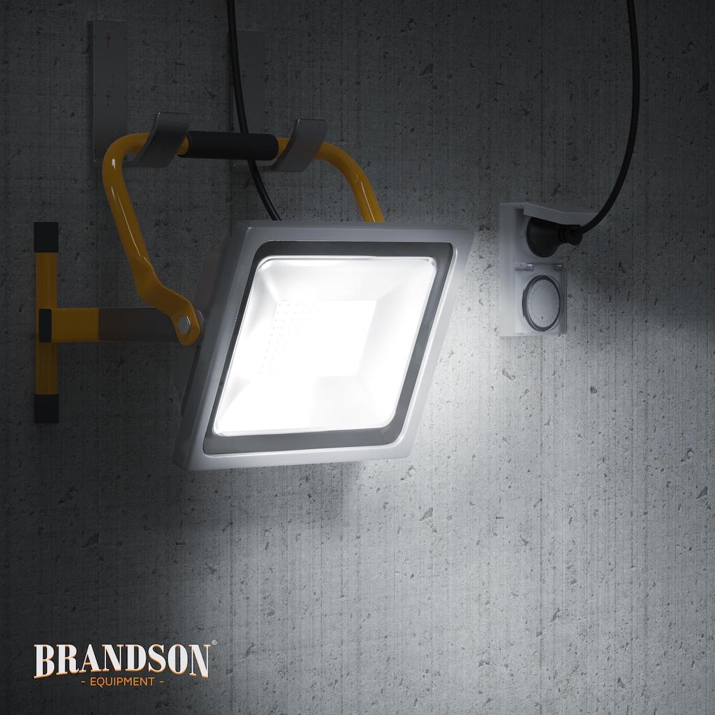 Brandson 50W LED Outdoor-Baustrahler